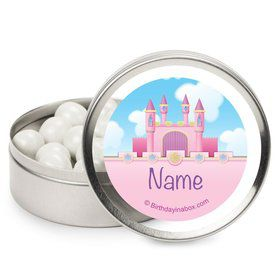 Princess Personalized Candy Tins (12 Pack)