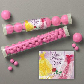 Princess Personalized Candy Tubes (12 Count)