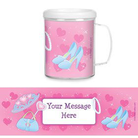 Princess Personalized Favor Mugs (Each)