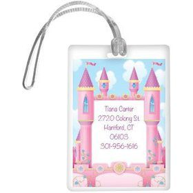 Princess Personalized Luggage Tag (each)
