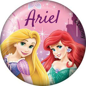 Princess Personalized Mini Button (Each)