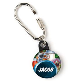"Pug Pals Personalized 1"" Carabiner (Each)"