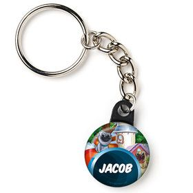 "Pug Pals Personalized 1"" Mini Key Chain (Each)"