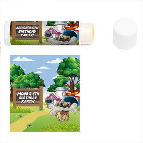 Pug Pals Personalized Lip Balm (12 Pack)