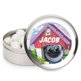 Pug Pals Personalized Mint Tins (12 Pack)