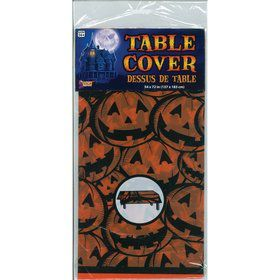 "Pumpkin Table Cover 54"" x 72"""