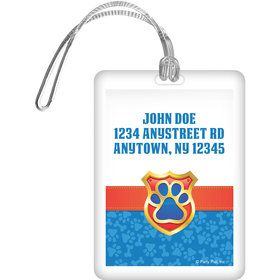 Pup Command Personalized Bag Tag (Each)
