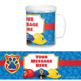 Pup Command Personalized Favor Mug (Each)