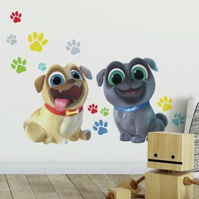 Puppy Dog Pals Peel and Stick Giant Wall Decals (13 Pieces)