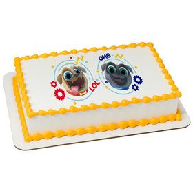 Puppy Dog Pals Quarter Sheet Edible Cake Topper (Each)