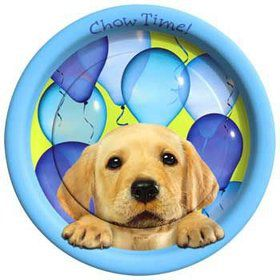 Puppy Party Dinner Plates (8-pack)