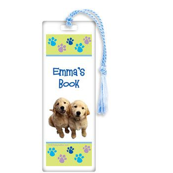 Puppy Party Personalized Bookmark (Each) BB017457