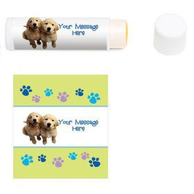 Puppy Party Personalized Lip Balm (12 Pack)