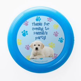 Puppy Party Personalized Mini Discs (Set of 12)
