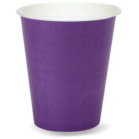Purple 9 oz. Paper Cups (8 Count)