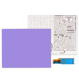 Purple Activity Placemat Kit for 4