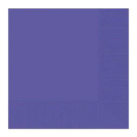 Purple Beverage Napkins (20 Pack)