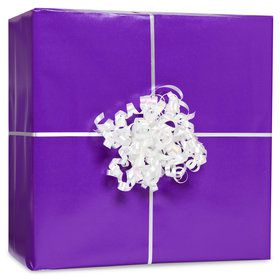 Purple Gift Wrap Kit