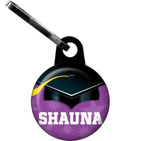 Purple Grad Personalized Zipper Pull (Each)