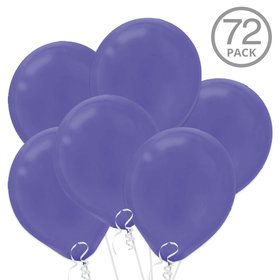 Purple Latex Balloons (72 Count)