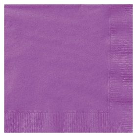 Purple Lunch Napkins (50 Count)