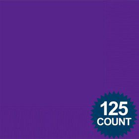 Purple Luncheon Napkins (125 Pack)