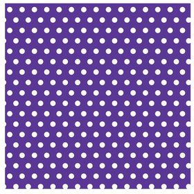 Purple Polka Dots with Jumbo Gift Wrap