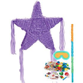Purple Star Pinata Kit