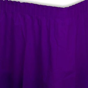 Purple Tableskirt