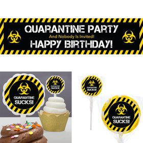 Quarantine Party Birthday Kit