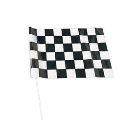 Race Car Checkered Flag (12 count)