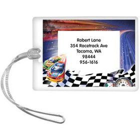 Race Cars Personalized Luggage Tag (each)