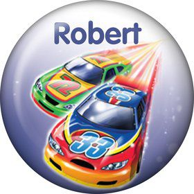 Race Cars Personalized Mini Button (Each)