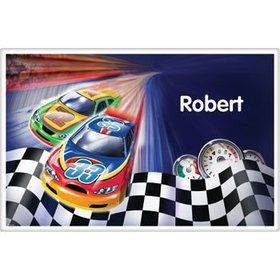 Race Cars Personalized Placemat (each)