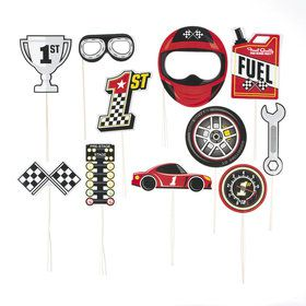 Racecar Photo Stick Props (12)