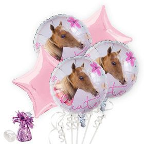 Rachael Hale Beautiful Horse Balloon Bouquet Kit