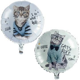Rachael Hale Cats Rule Foil Balloon (1)
