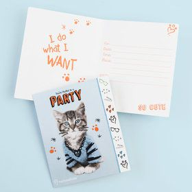 Rachael Hale Cats Rule Invitations (8)