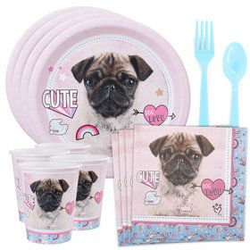 Rachael Hale Dog Love Standard Tableware Kit (Serves 8)