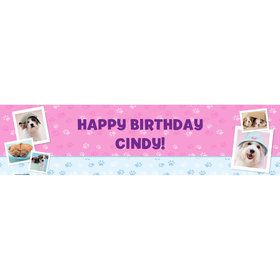 Rachael Hale Glamour Dogs Personalized Banner (Each)