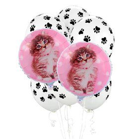 Rachaelhale Cats 8 pc Balloon Kit