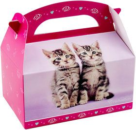 Glamour Cats Empty Favor Boxes by Rachael Hale