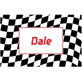 Racing Flag Personalized Placemat (each)