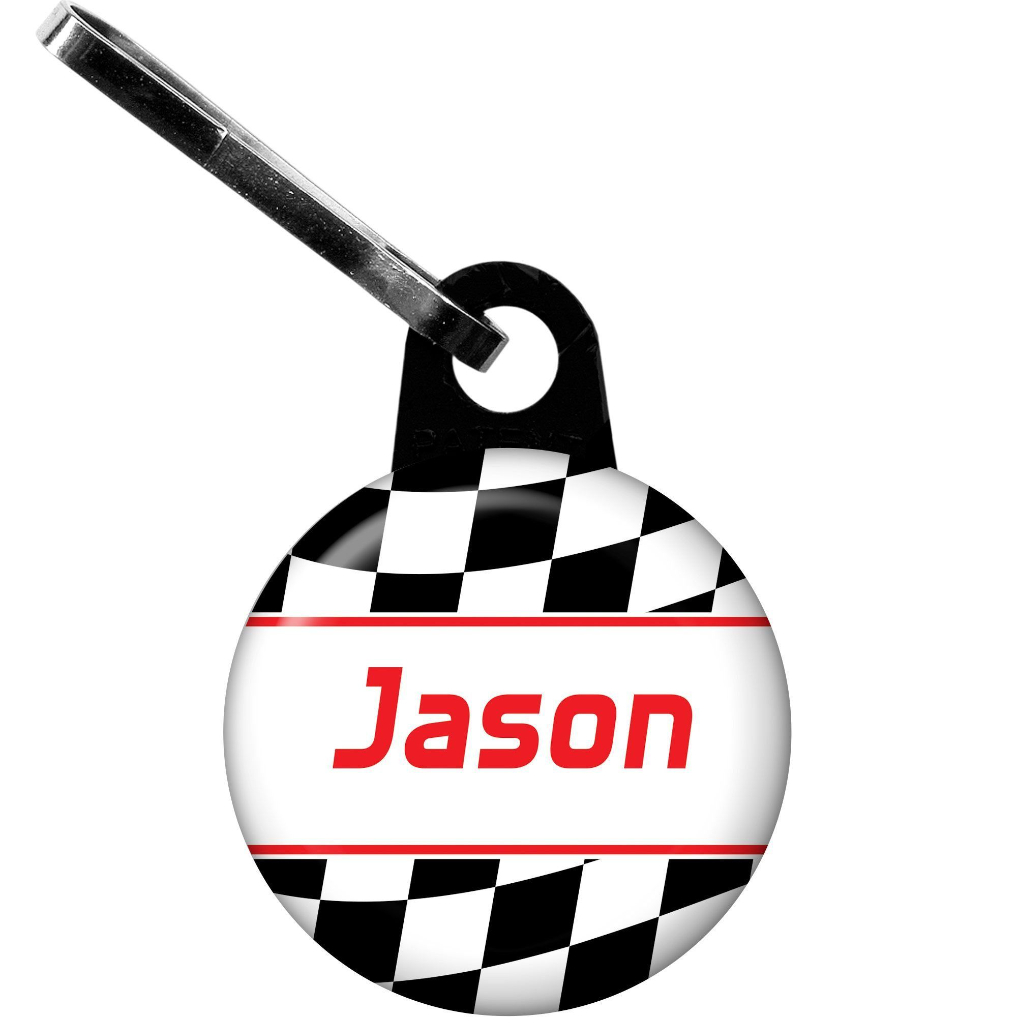 Racing Flag Personalized Banner Each