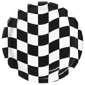 Racing Party Cake Plates (8-pack)