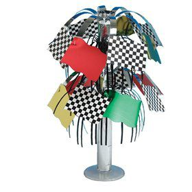Racing Party Centerpiece