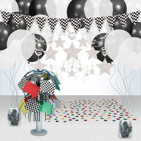 Racing Party Decoration Kit
