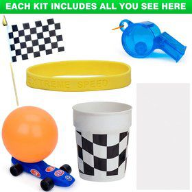 Racing Party Favor Kit