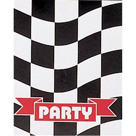 Racing Party Invitations (8 pack)