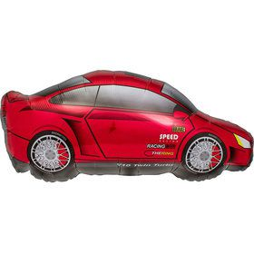 "Racing Sports Car 32"" Balloon (Each)"